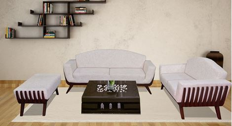 Picture of Meuse Wooden Sofa D'Aor