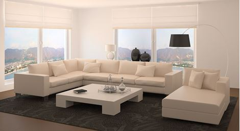 Picture of Theron Fabric Sofa Set